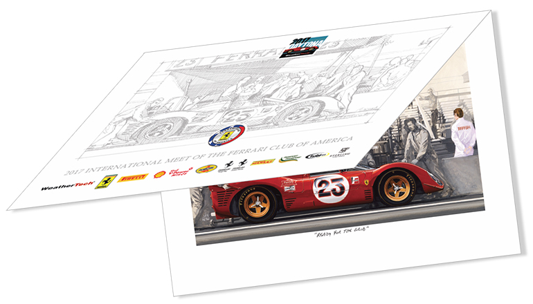 Exclusive FCA Limited edition print