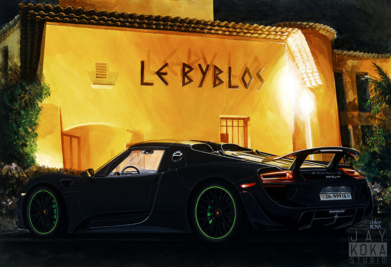 918 at Le Byblos by Jay Koka