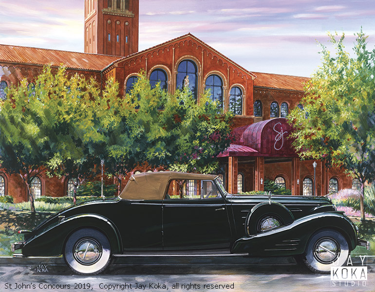 Concours d'Elegance of America at St Johns 2019